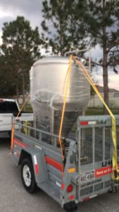 Tampa Beer Works - New 10 BBL Fermenter